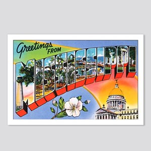 Mississippi Greetings Postcards (Package of 8)