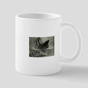 Titanic Sinking Mug
