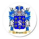 Berguier Round Car Magnet