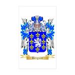 Berguier Sticker (Rectangle 50 pk)
