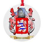 Bergougnoux Round Ornament
