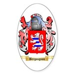 Bergougnou Sticker (Oval 10 pk)