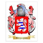 Bergougnou Small Poster