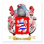 Bergougnon Square Car Magnet 3