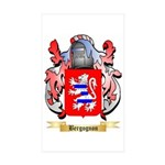 Bergognon Sticker (Rectangle 10 pk)