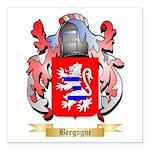 Bergogne Square Car Magnet 3