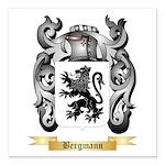 Bergmann Square Car Magnet 3