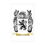 Bergmann Sticker (Rectangle)