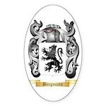 Bergmann Sticker (Oval 10 pk)
