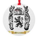 Bergman Round Ornament