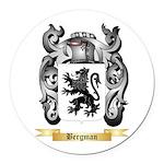 Bergman Round Car Magnet