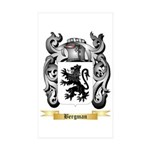 Bergman Sticker (Rectangle 50 pk)