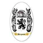 Bergman Sticker (Oval 50 pk)