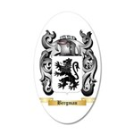 Bergman 20x12 Oval Wall Decal