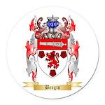 Bergin Round Car Magnet