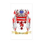 Bergin Sticker (Rectangle 50 pk)
