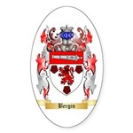 Bergin Sticker (Oval 10 pk)
