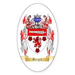 Bergin Sticker (Oval 50 pk)