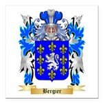 Bergier Square Car Magnet 3