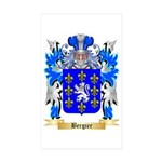 Bergier Sticker (Rectangle 50 pk)