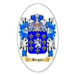Bergier Sticker (Oval 50 pk)