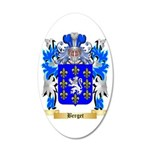 Berget 35x21 Oval Wall Decal