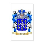 Berget 20x12 Wall Decal