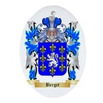Berget Ornament (Oval)