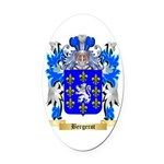 Bergerot Oval Car Magnet