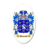 Bergerot 35x21 Oval Wall Decal