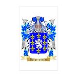 Bergeronneau Sticker (Rectangle 50 pk)