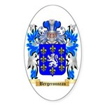Bergeronneau Sticker (Oval 10 pk)