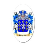 Bergerioux 20x12 Oval Wall Decal