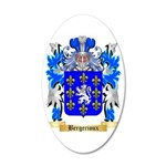 Bergerioux 35x21 Oval Wall Decal