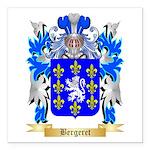 Bergeret Square Car Magnet 3