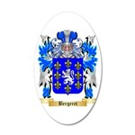 Bergeret 20x12 Oval Wall Decal