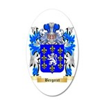 Bergeret 35x21 Oval Wall Decal
