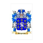 Bergereau Sticker (Rectangle 50 pk)
