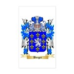 Berger Sticker (Rectangle)