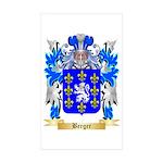 Berger Sticker (Rectangle 10 pk)