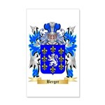 Berger 35x21 Wall Decal