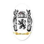 Bergen Oval Car Magnet