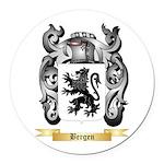 Bergen Round Car Magnet