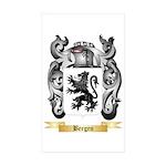 Bergen Sticker (Rectangle 50 pk)