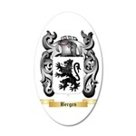 Bergen 20x12 Oval Wall Decal