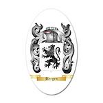 Bergen 20x12 Oval Wall Decal