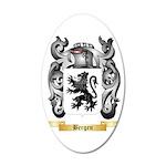Bergen 35x21 Oval Wall Decal