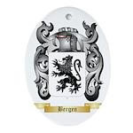 Bergen Ornament (Oval)