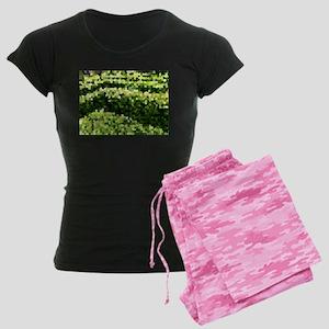 Mosaic Spring Cat Forsley Designs pajamas