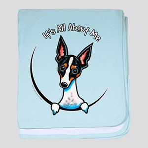 Rat Terrier IAAM baby blanket